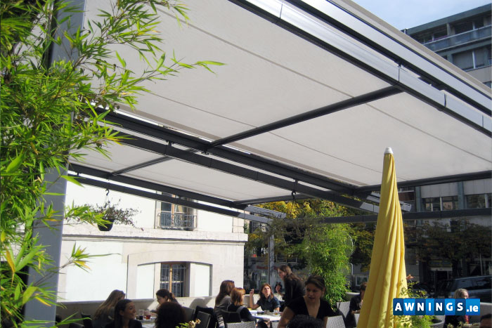awnings.ie residential consevatory awnings