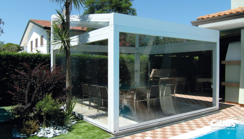 Retractable All Year Round Roof Awnings