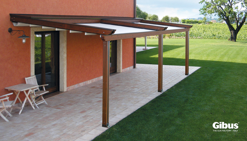 Gibus MED COUNTRY ELITE pergola roof image