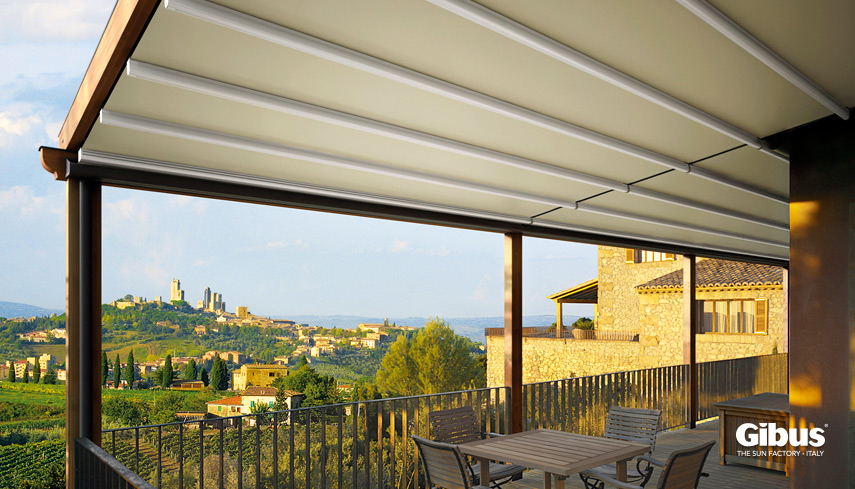 Gibus MED COUNTRY FORMA pergola roof image