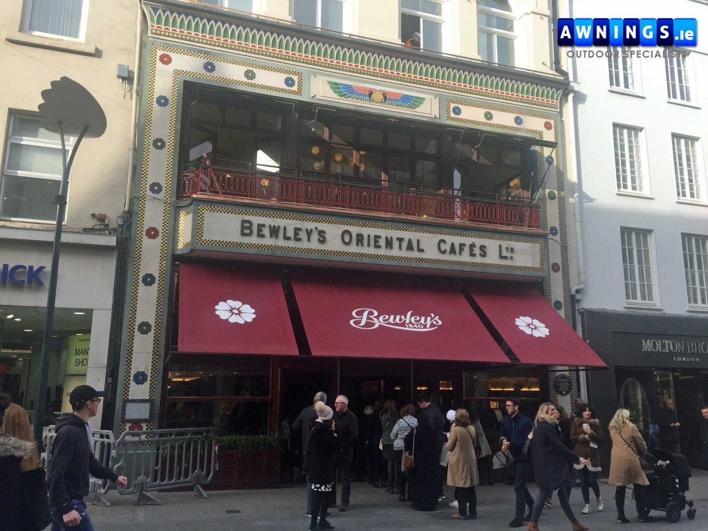Bewleys Cafe Old Style Awnings