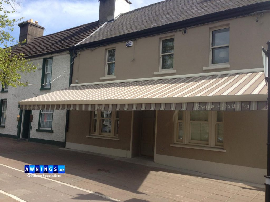 Didue awning Maynooth awnings.ie Ireland