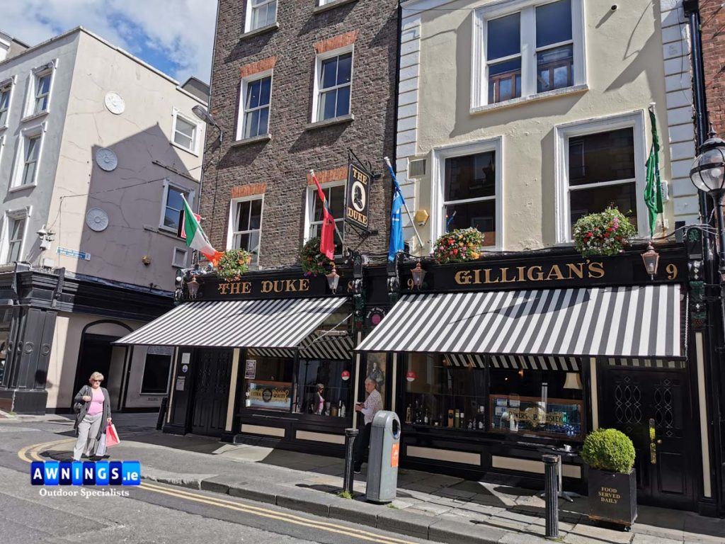 The Duke Drop arm awnings @awnings.ie Ireland