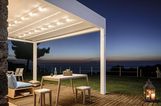 Awnings.ie lighting systems image and link