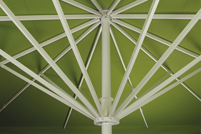 parasol frame from awnings.ie image