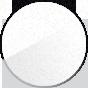 White RAL 9010 sablé